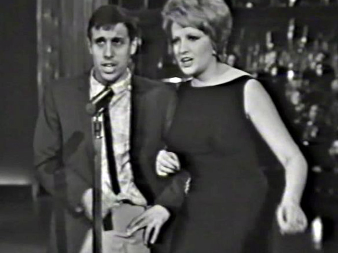 Adriano Celentano e Mina 1965