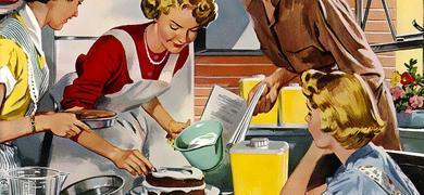 Casalinga anni 50