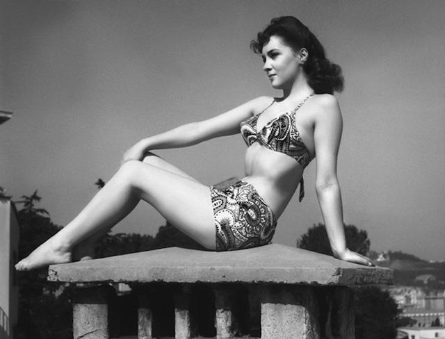 Gina Lollobrigida bikini anni 50