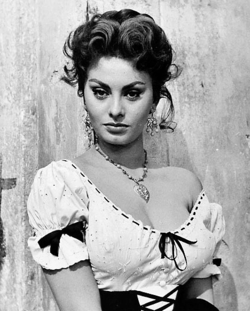 Sophia Loren nel 1955
