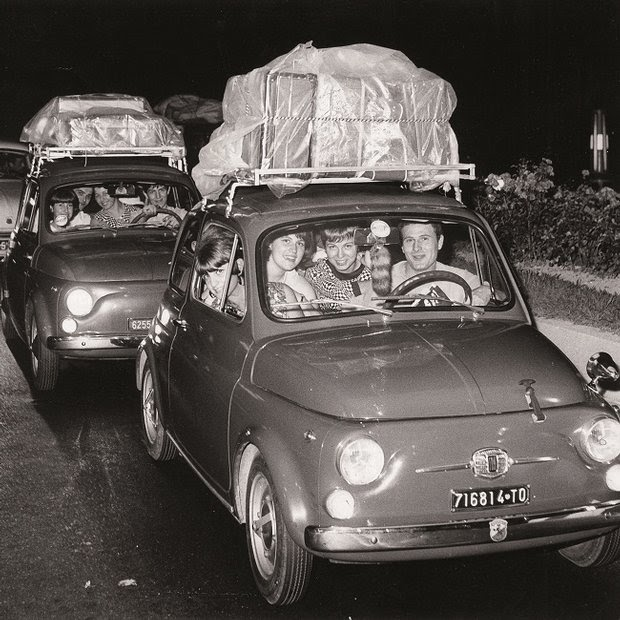 italiani in vacanza anni 60