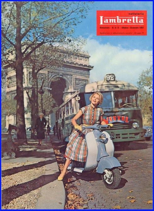 Lambretta locandina anni 50